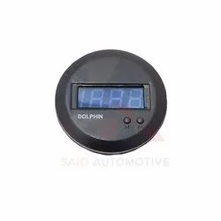 Digital Clock Round Dash For Suzuki Samurai SJ410 SJ413 Sierra Gypsy