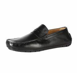 Van Heusen Black Loafers