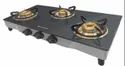 Black Cooktop Glass, Model Name/number: Jumbo 3 Bb Ss, Size: 77 Cm