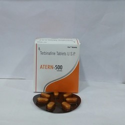 Terbinafine 500 mg Tablets, Packaging Type: Blister
