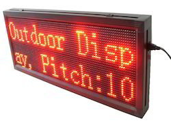 P10 Outdoor Red Display