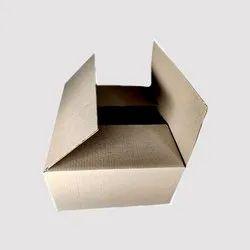 Rectangular Plain 3 Ply Corrugated Paper Box, 1.5x1x1 Feet