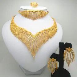 Gold Haar set