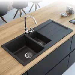 Deck Mount Fancy Granite Sink For Kitchen Size 24x18x8 Inch Rs 5200 Piece Id 22070849630
