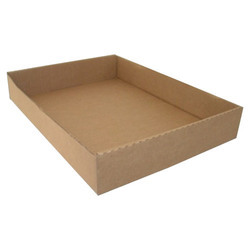 Brown Corrugated Tray
