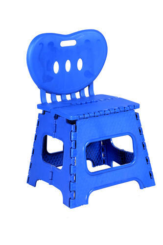 Siddhi Available in Yellow, Black, Red, blue Plastic Folding Chair, For Gifts, Warranty: 1 Year
