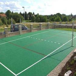 Synthetic Volleyball Court Construction Service