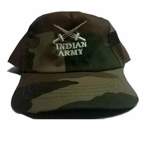 c27fa0af71edef Unisex Army Cap, Rs 60 /piece, Allwin | ID: 14902728788