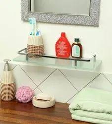 Toilet Glass Corner Shelf