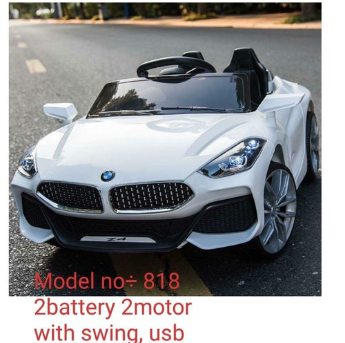 White Kids Ride On Car Bmw H S Traders Id 20741546973