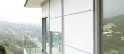 Industrial Transparent Blinds