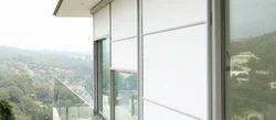 PVC Vertical Blinds Industrial Transparent Blinds