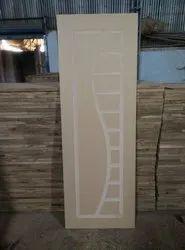 Brown Wood Colour WPC Solid Door
