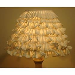 Cotton Antique Designer Table Lamp Shade