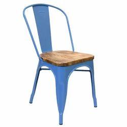 蓝色金属与木座椅,重量:6千克