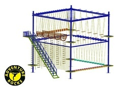 4 Rope Course with Double Layar