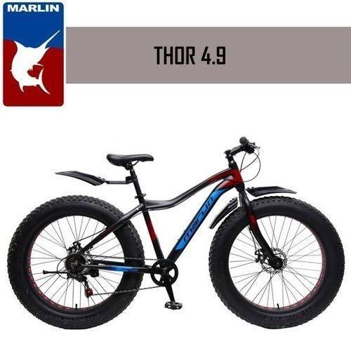 ae6699d097e Marlin Bikes Aluminum-Alloy Fatbike Men Thor Bicycle, 26X4.9 Inches (Thor