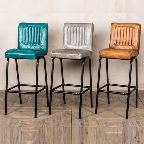 Remarkable Leather Bar Chair Ibusinesslaw Wood Chair Design Ideas Ibusinesslaworg