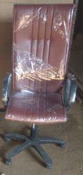 Shubh Black Movable Office Chair