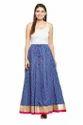 Zari Work Border Long Skirt