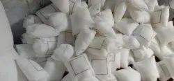 White Square LED Fibre Cushion, Size: 16x16 Inches