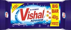 Vishal Advance Advance Detergent Cake, Packaging Type: Poly Pouch, Packaging Size: 200g, 100g