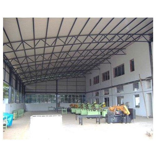 Madhav Shutter & Automation MS Industrial Prefabricated Factory Shed