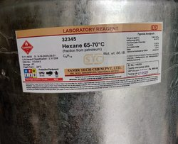 HEXANE   Lab Grade   LR-Laboratory Reagent Grade  Pkg. 25 Liters  Stc