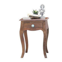 Antique Wooden Table / Side Table / Small Table / Solidwood Chair by Jaipur Furniture