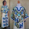 Bohemian Embroidery Kaftan