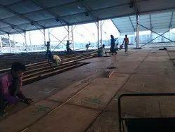 Exhibition Wooden Platform On Rent