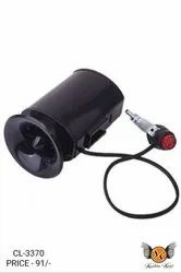 Ultra-loud Speaker Black Electronic Bicycle 6Sound Alarm Bell Bike Siren Horn LN