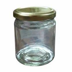 Glassco Transparent 200 ml Lug Glass Jar, For Kitchen Storage