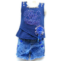 Kids Party Wear Top and Shorts