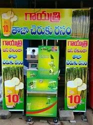 4 Roller Heavy Duty Sugarcane Juice Machine
