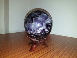 Blue Round High Quality Amethyst Spheres For Sale In Wholesale Price