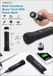 Power Bank with Torch & Bluetooth Speaker