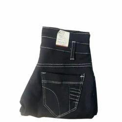 Denim Regular Fit Ladies Black Jeans, Waist Size: 30