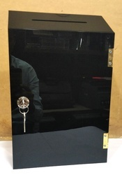 Acrylic Ballot Box with Lock