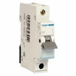 Single Phase Hager 63 AMP 1 Pole MCB