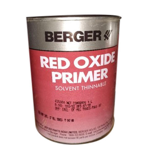 Berger Oil Based Metal Primer Paint Packaging Tin Container Rs 120 Litre Id 20227563097