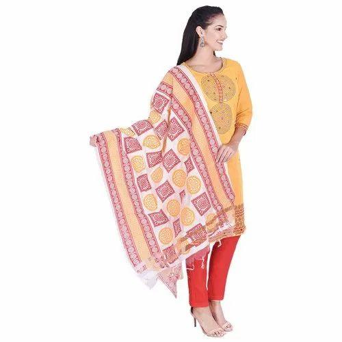 Lavanya Cotton Designer Three Piece Suit