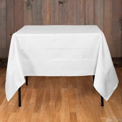 19a1b46b85af6 Craftola White Cotton Table Linen