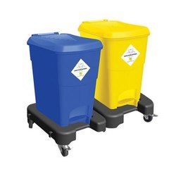 15L Bio Medical Bin With Trolley