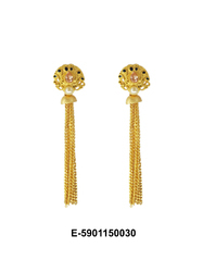 Gold Chain Earring