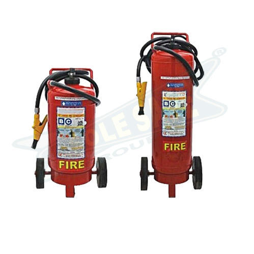 Dry Powder Trolley Mounted Type Fire Extinguisher