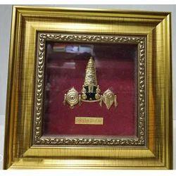 Rectangle 24 Carat Gold Leaf Frame