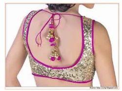 Cream And Pink Semi Formal Churidar Dress