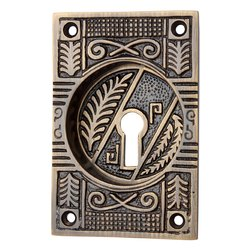 Mahavites Brass Decorative Flush Pull