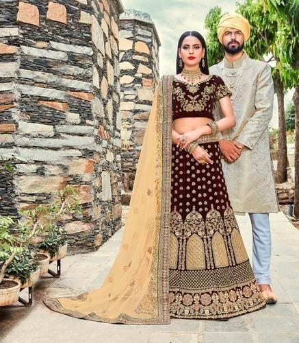 7e45f6e8950 PR Fashion Heavy Designer Semi-Stitched Lehenga Choli